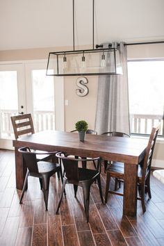 The Dining Room & Breakfast Bar :: Vacation Home Remodel February 19, 2014 16 Comments    Hello friends! Thank you so much for all of the po...