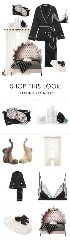 """""""sleep time 😴 #sleep"""" by m79m33 ❤ liked on Polyvore featuring Morgan Lane, This Works, Royal Velvet, Equipment, Maison Close, Kate Spade and Haute House"""