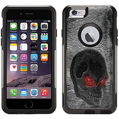 Otterbox Commuter Case for iPhone 6  Red Eye Skull * You can get additional details at the image link.