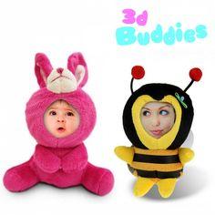 Ein 3D Foto Plüschtier ist ein originelles, liebevolles, witziges und personalisiertes Geschenk. Sehr zu empfehlen für Kinder, eine gute Freundin oder Mutti.