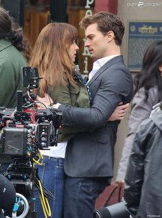 Fifty Shades of Grey : Jamie Dornan et Dakota Johnson tentés par ...