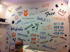 Wall Fanzine Pequeña Osadia, rotulacion en vinilo wall art matte (foto2)