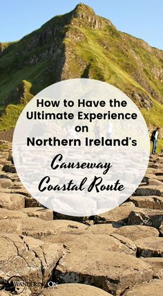 Northern Ireland's Causeway Coastal Route, recently voted one of the world's best road trips and a top region to travel to and drive in. With ancient castles, stunning Game of Thrones locations, Northern Ireland's only World Heritage Site and an infamous rope bridge, it's easy to see why. Here's our complete Causeway Coastal Route guide. #roadtrip #ireland #northernireland #causewaycoastalroute #gameofthrones