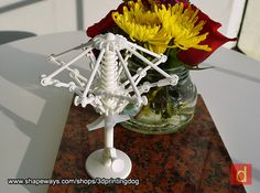 Deconstructed Umbrella 3d printed This handsome piece is perfect for either home or office.