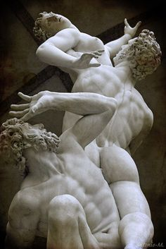 Rape of the Sabines Giovanni da BolognaLoggia dei Lanzi, Florence, IT