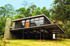 Estilo industrial contemporáneo en Valle de Bravo - Casa Haus - Decoración