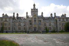 Hunted Denbigh Asylum, Denbighshire, North Wales.