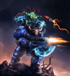 Tauren Space Marine StarCraft 2 Here are some of the best World of Warcraft pics I could find online.