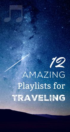 Playlists for Travel