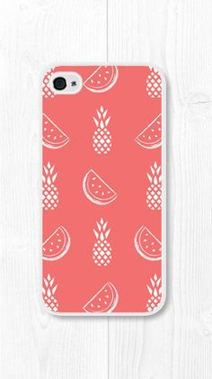 iPhone 6 Case Watermelon iPhone Case Pineapple iPhone Case Summer iPhone 6 Plus Case Watermelon iPhone 5 Case Coral Pink iPhone 4 Case - Cheap Phone Cases - Ideas of Cheap Phone Cases - iPhone Case Watermelon iPhone Case Pineapple by Afrikraaft Cheap Phone Cases, Iphone 5c Cases, Cute Phone Cases, Iphone 6 Plus Case, 5s Cases, Iphone 5s, Coque Ipad, Coque Iphone, Coque Vintage