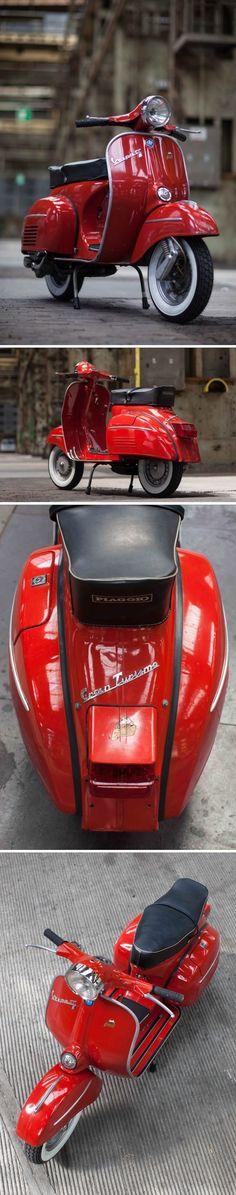 Vespa 125 Gran Turismo R 1972 Vespa 125, Vintage Vespa, Motos Vintage, Retro Scooter, Scooter Custom, Piaggio Vespa, Vespa Lambretta, Motor Scooters, Vespa Scooters