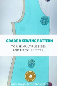 Learn how to Grading Altering Sewing Pattern Sizes. Modify your patterns to use the sizes that really correspond to your body with this easy tutorial. Easy Sewing Projects, Sewing Hacks, Sewing Tutorials, Sewing Patterns, Sewing Tips, Sewing Stitches, Sewing Ideas, Sewing Machines Best, Sewing Alterations