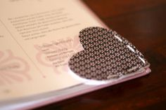 Heart Bookmark #diy
