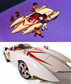 10 replicas reais de carros inspiradas em desenhos famosos - Não leve por trás