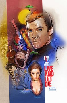 """For ROGER MOORE fans and my father David. This was the last Bond film my pop and I saw in a theater together. James Bond Movie Posters, Movie Posters For Sale, Marvel Movie Posters, James Bond Movies, Movie Poster Art, Film Posters, Marvel Movies, Poster Frames, Music Posters"