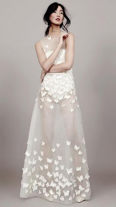 Robe de mariee Kaviar Gauche papillons Berlin l La Fiancee du Panda blog mariage