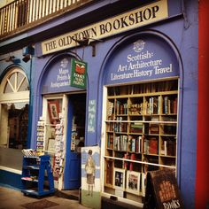 The Old Town Bookshop, Victoria Street.