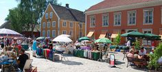 Hunt for curiosities at the market in the Old Town in Fredrikstad, Norway - Photo: opplevfredrikstad.com