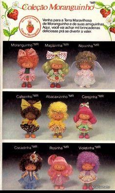 Coleção Moranguinho 1987