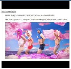 HAHAHA oh All Time Low ;)