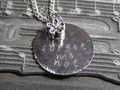 forget me not stamping