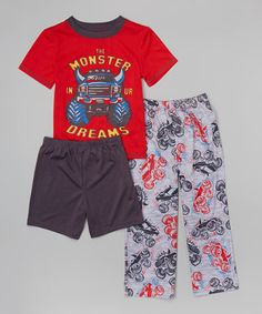 Frugal Kids Boy Sets Summer Boy Sets Clothes T Shirt+short Pants Cotton Sports Fire Truck Printed Set Children Suit For 1-7t Clothing Sets