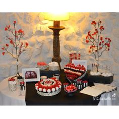 mesa dulce roja