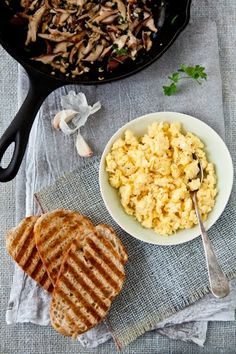 Best scrambled eggs.