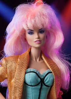 the truly outrageous jem starr doll!