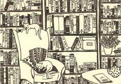 will barnet library poster cat | Drawing & Illustration Fiber Arts Glass Art Mixed Media & Collage ...