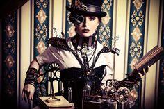 Steampunk woman by Luria-XXII
