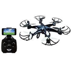 SkyRider Eagle Pro Drone WiFi Camera 6-Axis Gyroscope Stream to Smarthone USB