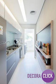 Novamente a lousa aparece na cozinha. Criatividade em todos os estilos!