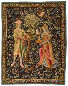 SF9372 - 4.11X6.3 | ANTIQUE TAPESTRY