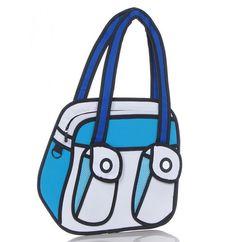 Stiksels & Stijl - #3D tassen Lijken plat mast zijn het niet. Tot 8cm diep.