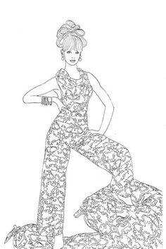 Introducing The Vogue Colouring Book