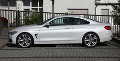 BMW 4 Series Coupe in mineral white