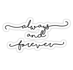 """""""Always and Forever - The Originals / The Vampire Diaries"""" Stickers by alexandra89 