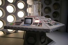 1980's TARDIS console | by The Doctor Who Site