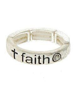 Silver Faith Ring @ www.camglamm.com