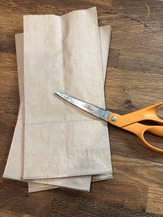 DIY Paper Bag Pumpkin Stems - C Whimsy Fabric Pumpkins, Fall Pumpkins, Sweater Pumpkins, Velvet Pumpkins, Pumpkin Stem, Diy Pumpkin, Pumpkin Crafts, Fall Halloween, Halloween Crafts