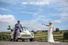 Joanna and Gareth's Bright and Colourful DIY Barn Wedding. By Matt Parry