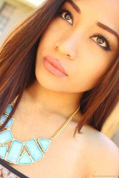 pocahontas+makeup | DISNEY'S POCAHONTAS INSPIRED MAKEUP Pocahontas Makeup, Disney Pocahontas, Disney Princess, Disneybound, Makeup Inspiration, Turquoise Necklace, Inspired, Photoshoot Ideas, Fantasy