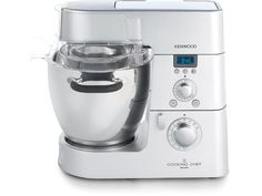 Kenwood stand mixer that also cooks through induction heating. talk about an all-in-one machine!