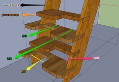 projeto escada de madeira - Pesquisa Google