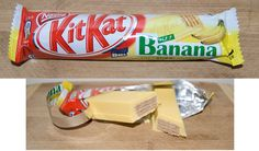 Banana Kit Kat Chunky - Japan by kalvin1974, via Flickr