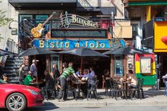 Bistro à Jojo Cool Bars, Canada Travel, Far Away, Nightlife, Night Club, Vintage Photos, Archive, Rock, Party