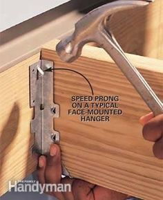 How to Install Joist Hangers Simple steps for building decks and floors thatll last a lifetime.
