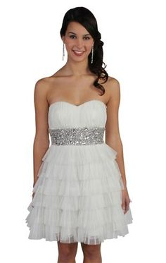 I think I really want a white dress for confirmation I love this one <3