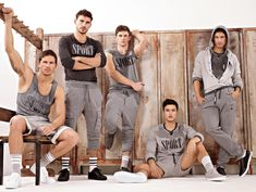 Dolce & Gabbana Autumn/Winter 2012 Men's Gym & Sportswear Collection: Consistently Improving Classic Relaxed Shape, Combining D Designs, Mixing & Matching With Fashion Collection